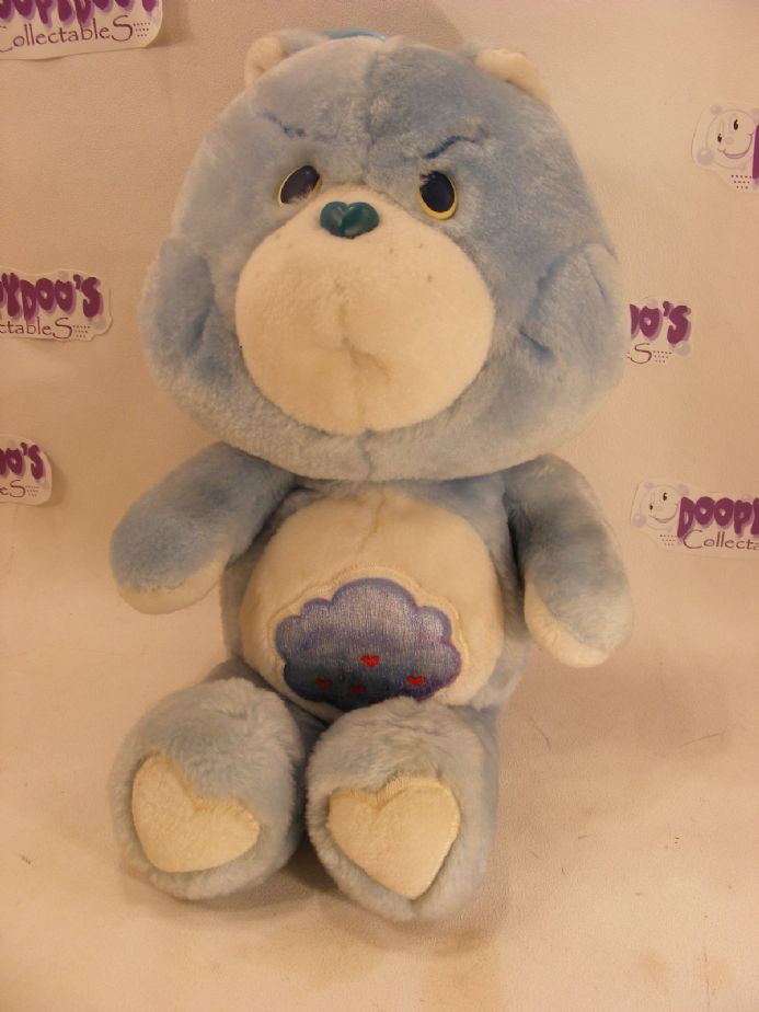 "VINTAGE 12"" GRUMPY CARE BEAR 80S CARE BEARS"